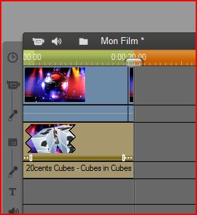 placer un motion background